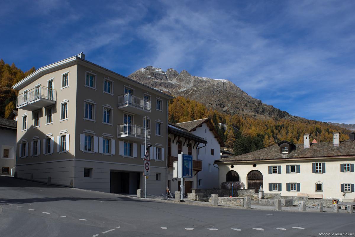Chesa paravicini silvaplana wohnbau fh architektur for Fachhochschule architektur