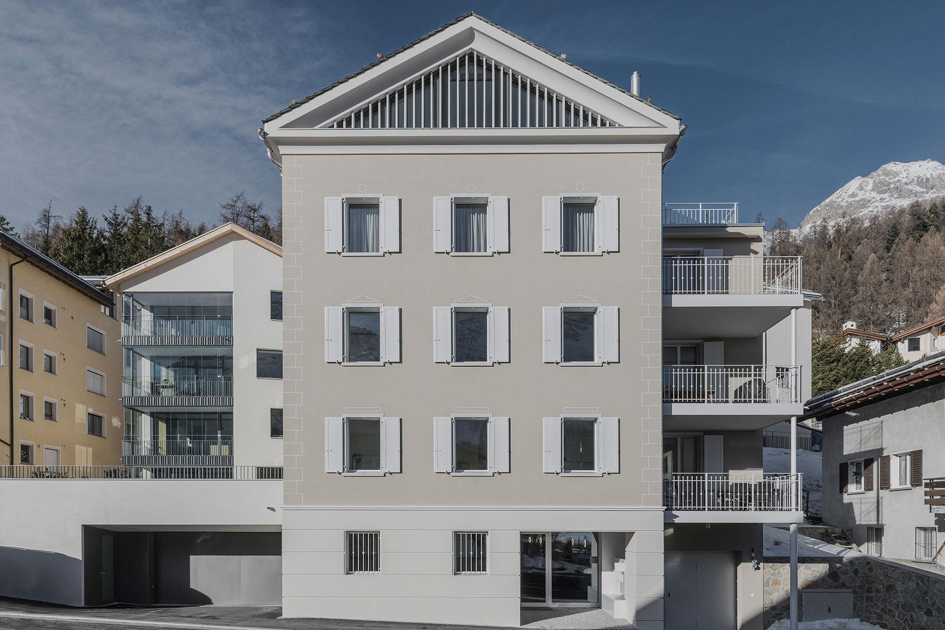 Home fh architektur bever engadin st moritz for Fachhochschule architektur